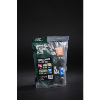 Set 6x - Tactical Six Pack Bravo, Tactical Foodpack
