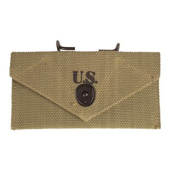 Kopie pouzdra na obvaz US Army z WWII, khaki, Mil-Tec