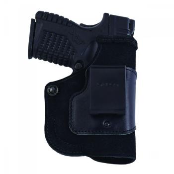 Vnitřní pouzdro Galco Stow-N-Go pro pistoli Glock 43 se svítilnou Viridian Reactor, pravé