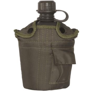 Polní láhev US s obalem, olivová, 1 L, Mil-Tec