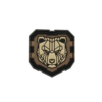 PVC nášivka Industrial Bear, Mil-Spec Monkey