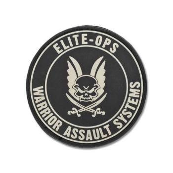 PVC Patch Logo Shield, Warrior