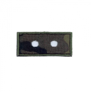 Hodnostní nášivka na čepici Desátník, podklad vz. 95