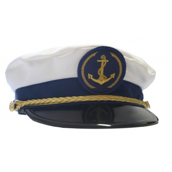 Čepice marine - kapitánská s nášivkou