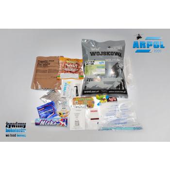 Vojenská potravinová dávka MRE, W2, Arpol