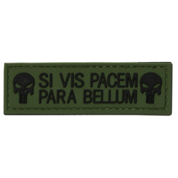 """PVC patch """"Si vis pacem, para bellum"""""""