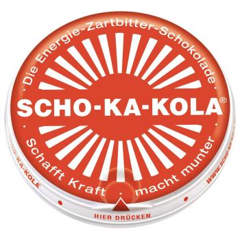 Energetická čokoláda Scho-ka-kola