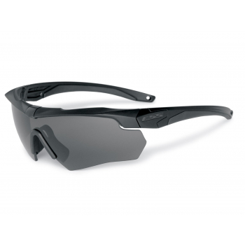 Ballistic Eyeshield Crossbow Black, Smoke Gray LS, ESS