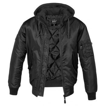 Men's winter jacket MA1 Sweat Hooded, Brandit
