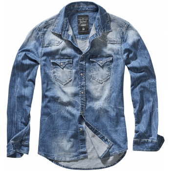 Riley Denim shirt, Brandit