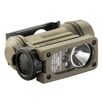 SIDEWINDER COMPACT ® II with Helmet Mount and Elastic Headstrap. Clam., Streamlight