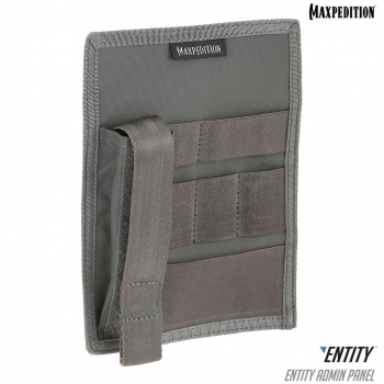 Entity™ Hook & Loop Admin Panel, Gray, Maxpedition