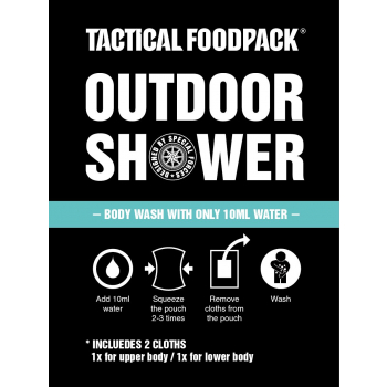 Outdoorová sprcha, Tactical Foodpack