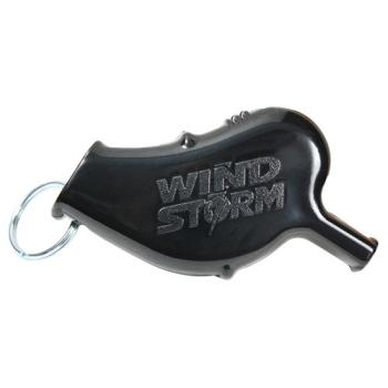 Nouzová píšťalka WindStorm™, černá