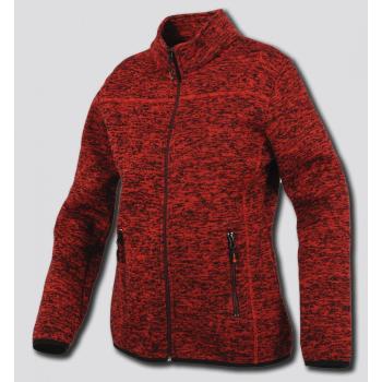 Dámská úpletová mikina LADY THALES, červená, Promacher