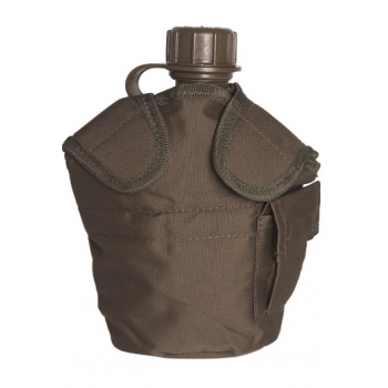 MOLLE case for field bottle US-STYLE, olive, Mil-Tec