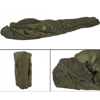 Tactical sleeping bag, olive, Mil-Tec
