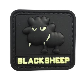 PVC nášivka - Small Glow BlackSheep