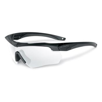 Brýle Crossbow, černý rám, čirá skla, ESS