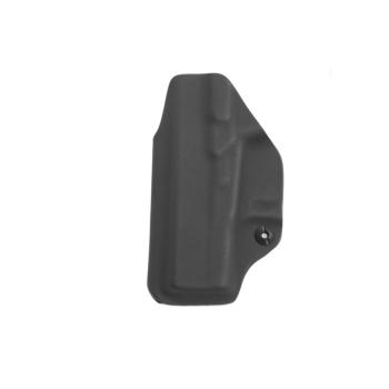 Kydex pouzdro RH Holsters, Glock 43X, pravé, vnitřní, pol. swtg., černá/černá