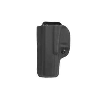 Kydex RH Glock 17, bez swtg, vnitřní, pravý, černá/černá spona 45mm