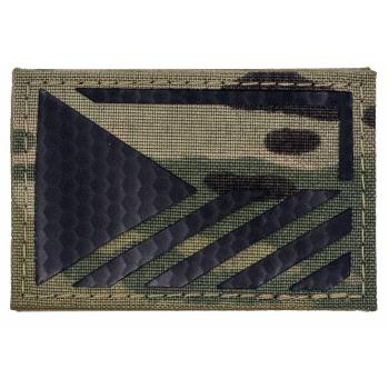 IR znak AČR - vlajka ČR, MultiCam