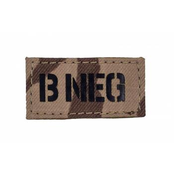 "IR patch ""A NEG"" - arid"