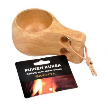 Dřevěný hrnek - finská Kuksa, Savotta