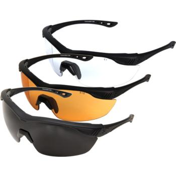Brýle Edge Tactical Overlord - sada 3 výměnných skel (G-15, čiré, Tiger's eye)