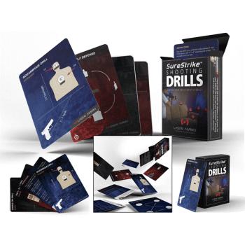 Karty k střeleckým cvičením Shooting Drill Cards, Laser Ammo