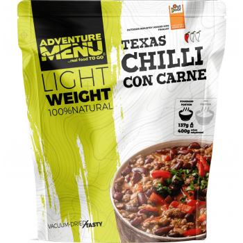 Vacuum Dried Chilli con Carne - Lightweight, Adventure Menu