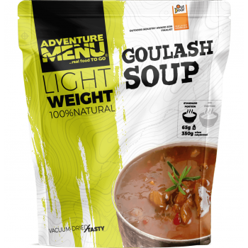 Vacuum Dried Goulash Soup - Lightweight, Adventure Menu
