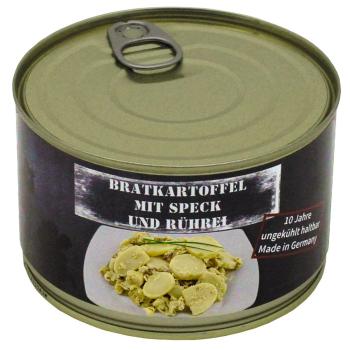 Vojenská konzerva - Smažené brambory se slaninou a vejci, 400 g, MFH