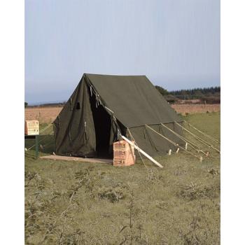 Tent U.S. small wall, 2.7 x 2.7 m, olive, Mil-tec