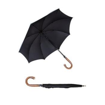 Pánský obranný deštník, holová dřevěná hlava, E.I. Limited