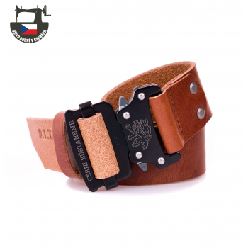 Leather Belt Speed, brown, limited edition, OTT