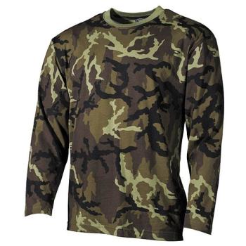 Bavlněné tričko s dlouhým rukávem, vz. 95, MFH