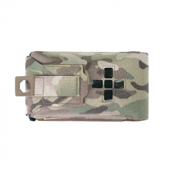 Small Horizontal Individual First Aid Kit pouch, Laser Cut, Warrior