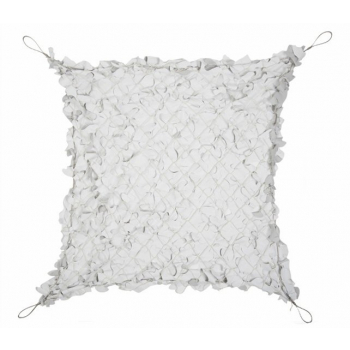 Shade Net with steel wire, 3x3 m, White/Grey, Mil-Tec