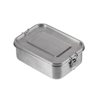 Stainless Steel Lunchbox Plus, 18 cm, Mil-Tec