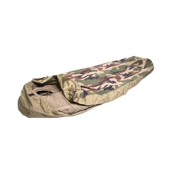 Three-layer Laminate and Waterproof Sleeping Bag Cover Modular, CCE camo, Mil-Tec