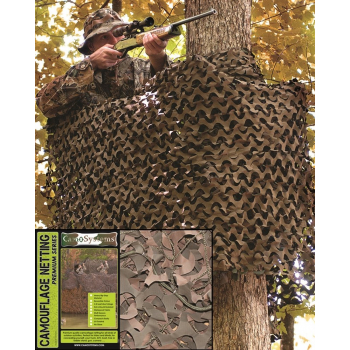 Síť maskovací Basic 3 x 3m, woodland, Mil-Tec