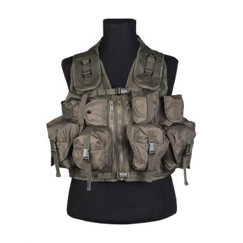 Tactical Vest, 9 pockets, Mil-Tec