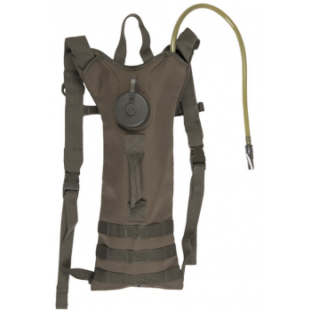 Basic Water Pack with Straps, 3 L, Mil-Tec