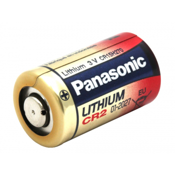 Non-rechargeable CR2 Lithium battery, 1 pc, Blister, Panasonic