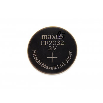 Non-rechargeable Lithium button cell battery CR2032, 1 pc, Blister, Maxell