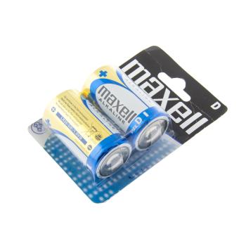 Non-rechargeable alkaline batteries LR20 (size D), 2 pcs, Blistr, Maxell