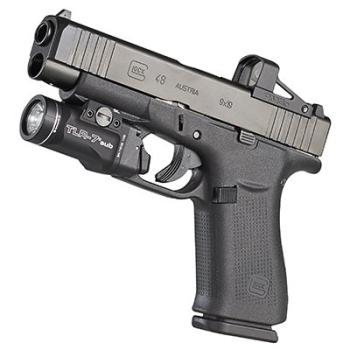 Taktická LED svítilna TLR-7 sub pro Glock 43X/48 Rail, 500 lm,Streamlight
