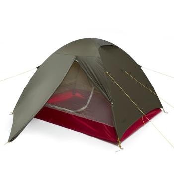 Tent Litio 3, green, Warg