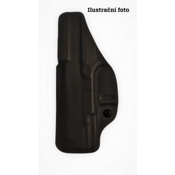 """Kydex holster for Walther PDP 4,5"""", inner, black, RH Holsters"""